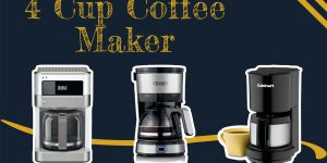 Top 15 Best 4 Cup Coffee Makers [Review] | Buyer's Guide